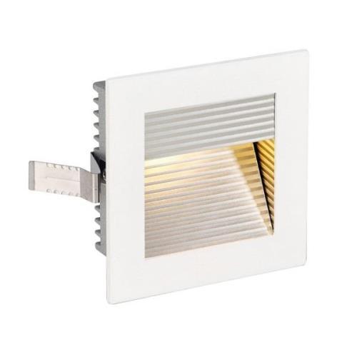 SLV-seinäupotuslamppu Flat Frame QT9 valkoinen