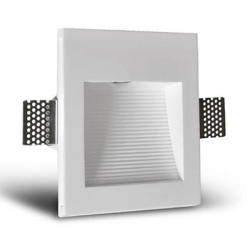 LED-seinäuppovalaisin Zimant, kipsi