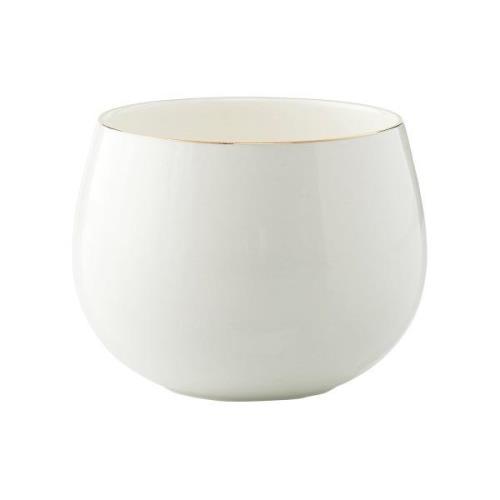 Clara kulho Ø9,5 cm White-light gold